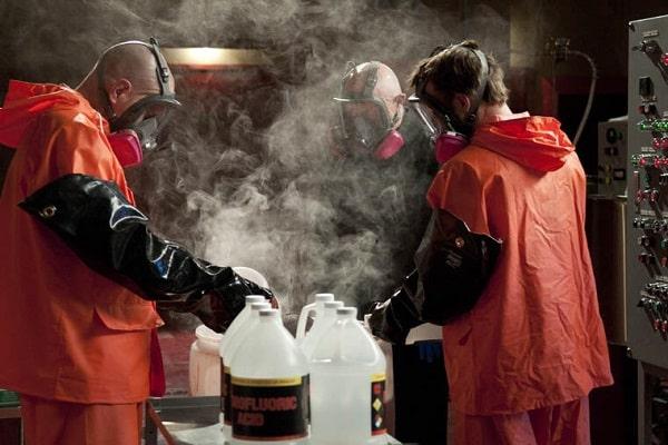 هیدروفلوریک اسید مرک